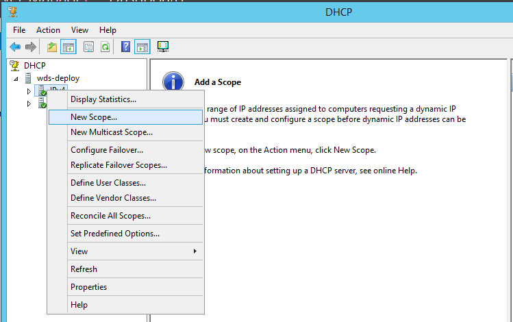 Configure DHCP 2
