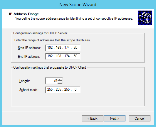 Configure DHCP 5