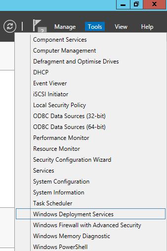 Windows 2012R2 Deployment Services Server Setup – Polar Clouds